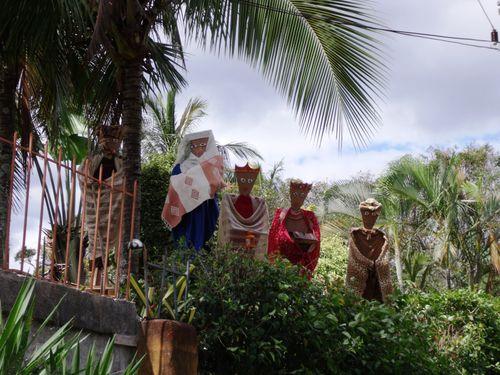 Alajuela - Christmas decorations
