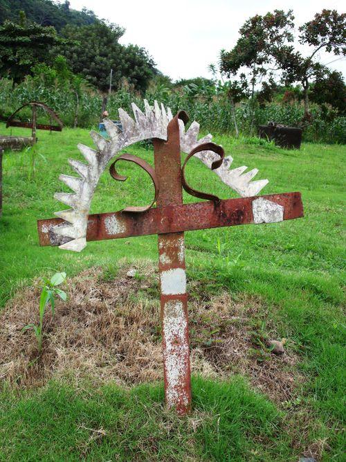 Cemetary cross